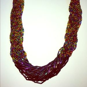 Jewelry - Colorful Beaded Handmade Necklace
